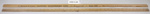 Wooden ruler; Unknown maker; Unknown; CR2015.004