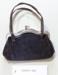 Small black purse; Unknown maker; Unknown; CR1977.490