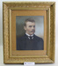 Framed portrait photograph of Theo Toms; Unknown; Unknown; CR1980.074