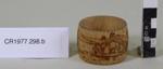 Serviette rings (2); Unknown maker; Unknown; CR1977.298
