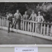 Photograph, group of men at the Cromwell Ice Skating Rink railing, May 1952; Evening Star, Dunedin; 1952; CR2020.041.4