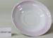Pink & white saucer ; Unknown maker; unknown; CR1977.280