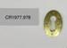 Keyhole Surround; Unknown maker; CR1977.978