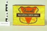 Pascall toffee rolls tin; Cadbury Fry Hudson Ltd; Unknown; CR2015.007