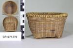 Chinese cane basket