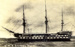 photograph of HMS Ganges at anchor, taken in 1821 the year she was launched; SHHMG:A2128
