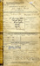 Service Certificate, Gunnery History Sheet, Hurt Certificate and the Order for Release for John Alfred Birch who was a boy at Ganges in 1928.; SHHMG:A3812