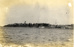 "Photograph of the ""First sight of Shotley, June 1925"" as seen approaching by sea from Harwich; SHHMG:A115"