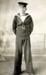 Post card HMS Ganges boy in best uniform; SHHMG:A2289