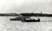 Photograph of a cutter pulling race in 1935.; SHHMG:A1430