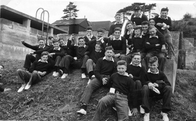 Photograph of 23 boys in Recreational Rig; photographer : Fisk, R A, Mr; SHHMG:A5335