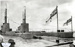 photograph of Australian submarines visiting HMS Ganges 1938 = 1939.; photographer : unknown; SHHMG:A3231