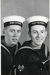 Photograph of 2 juniors of 37 mess, 1957; photographer : Fisk, R A, Mr; SHHMG:A5540