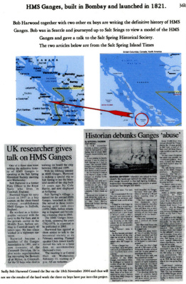 2 newscuttings from the Salt Spring Island Times with maps of British Columbia. ; photographer : unknown; SHHMG:A5798.2