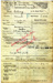 Copy of the Service Certificate of Fred Catling, born 1893, entered HMS Ganges on 21st September 1909, served until 1922 then joined the RAF.; photographer; SHHMG:A10283