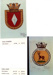 Copy of photographs of the ships' badges of HMS Diamond and HMS Alert; SHHMG:A6393.10