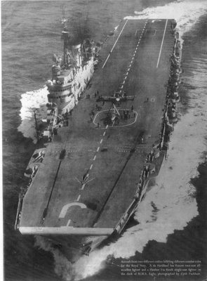 Photograph of HMS Eagle; photographer : unknown; SHHMG:A394
