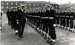 Photograph of of unknown guard class on parade being inspected by Rear Admiral; photographer : Fisk, R A, Mr; SHHMG:A4448
