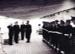 Copy photograph of members of crew of HMS Alert forming guard at Macau, China 1953 = 1954.; SHHMG:A6393.41