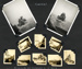 A montage of ten photographs taken from HMS Concord in 1950; photographer; SHHMG:A4607.1