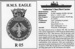 Information Card relating to HMS Eagle; SHHMG:A408