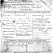 Copy Service Certificate of Arthur William Smithers, JX130745, joined HMS Ganges 8 September 1927; SHHMG:A5506