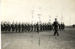 Photograph of unknown guard marching past in 1933. (Also recorded as A1596); SHHMG:A110