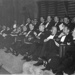 photographs of Captain Le Fanu and guests attending 1955 Boxing Finals  ; photographer : unknown; SHHMG:A608