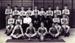 Photograph of HMS Ganges cross country team 1957; photographer : Fisk, R A, Mr; SHHMG:A6907