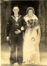 The wedding photograph of an unknown signalman from HMS Ganges; photographer : Press, Cheltenham Chronicle; SHHMG:A1696