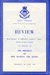 The programme for the Queen's Birthday Review 1955 (4 pages); SHHMG:A10151