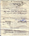 Copy of the back of the Trade Certificate issued to Michael Pearson on discharge from the Royal Navy; SHHMG:A5382.6