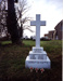 Colour photograph of HMS Ganges Memorial in St Marys Churchyard, Shotley, 1976; photographer : unknown; SHHMG:A4536