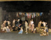 colour photograph of scene from HMS Ganges version of 'Oliver', Winners of Royal Navy Drama Festival, 1975; photographer : unknown; SHHMG:A3321