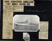A montage of  2 photographs of HMS Concord and 2 newspaper cuttings; photographer; SHHMG:A4604.1