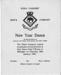 An invitation to a New Years ships company dance held on 28th January, 1954.; SHHMG:A585