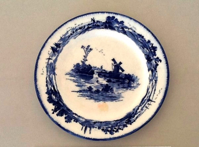 Side plate; Royal Doulton; c 1900; M672