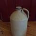 Stoneware Jar with lid; c1910; M804