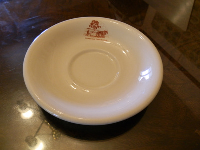 Saucer; Gibsons & Patterson PTY LTD; c 1950; M16.3