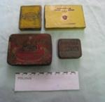 Tins - tobacco - Town Talk, Capstan Navy Cut, Gold Flake, State Express 555 ; SH1968-2086