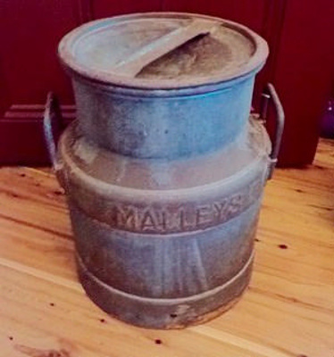 Cream Can; Malleys Ltd; c 1930; M716