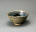 Bowl with blue, black and brown interior; Barry Brickell 1935-2016; Unknown; DCR-2017-80