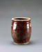 Commercial glazed storage pot with incised line on outside; Unknown; Unknown; DCR-2016-105