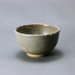Small grey-green bowl with dribbles on rim; Barry Brickell 1935-2016; Unknown date; DCR-2017-012