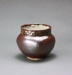 Brown Glazed Pot with decorated collar; Barry Brickell 1935-2016; Unknown; DCR-2017-68
