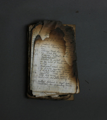 Barry Brickell Diary ; Brickell, Barry 1935-2016; 1989; DCR-2019-013