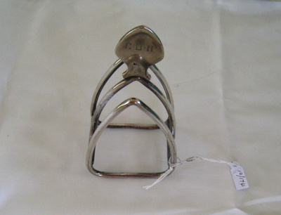 Toast rack - silver ; CH10.174