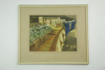 Hand painted Royal Visit photograph; V.C Browne; 1949; 05126