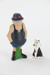 Wal and Dog Footrot Flats figurines; 00001.1-2