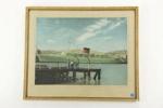 Cruise Ship photographic print; 05059